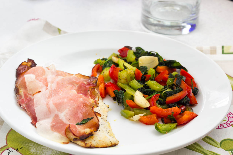3. Ebéd hal párolt zöldségek
