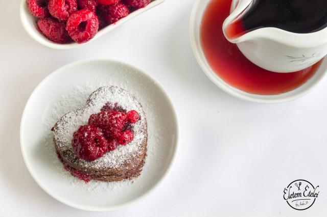 Csokitorta erdei gyümölcsökkel2