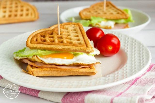 Gofri szendvics (2)