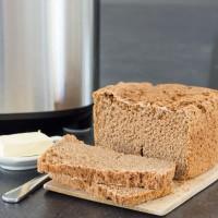 Teljes kiőrlésű házi kenyér a Panasonic SD-ZB2512 kenyérsütővel
