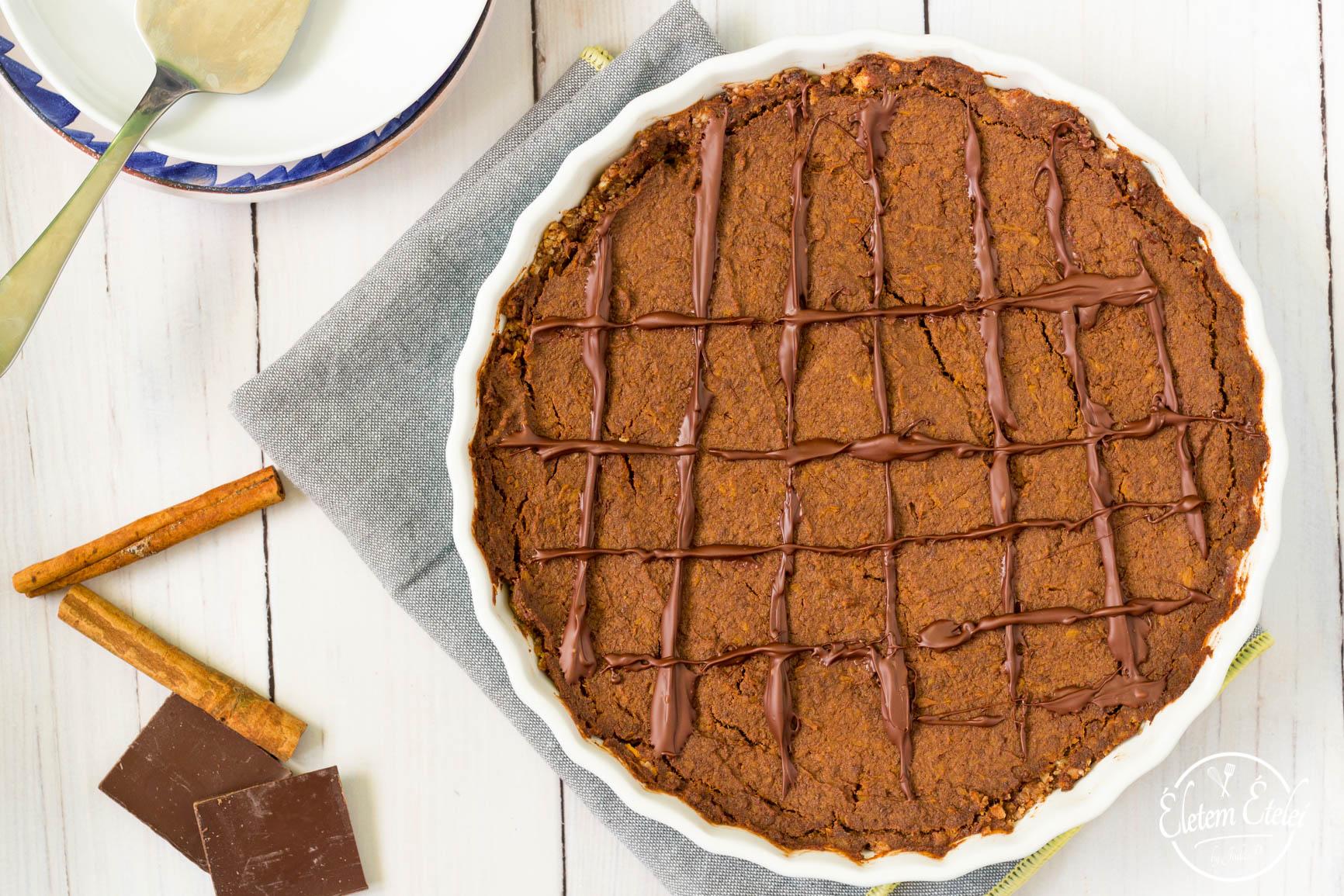 Sütőtökös csokitorta (1)