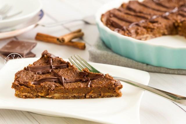 Sütőtökös csokitorta (2)