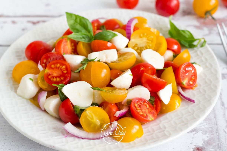 Koktélparadicsom saláta (2)