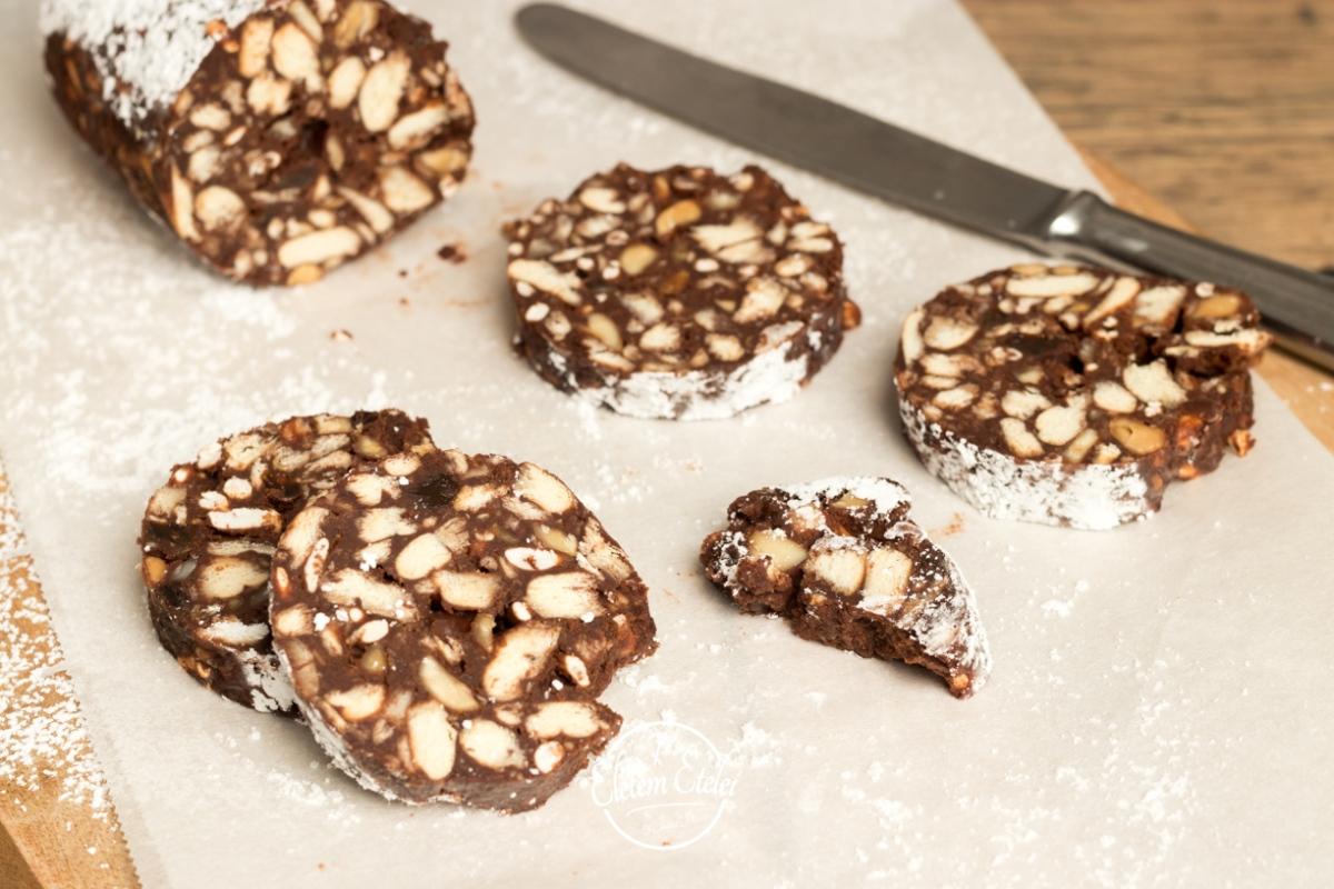 Csokiszalámi